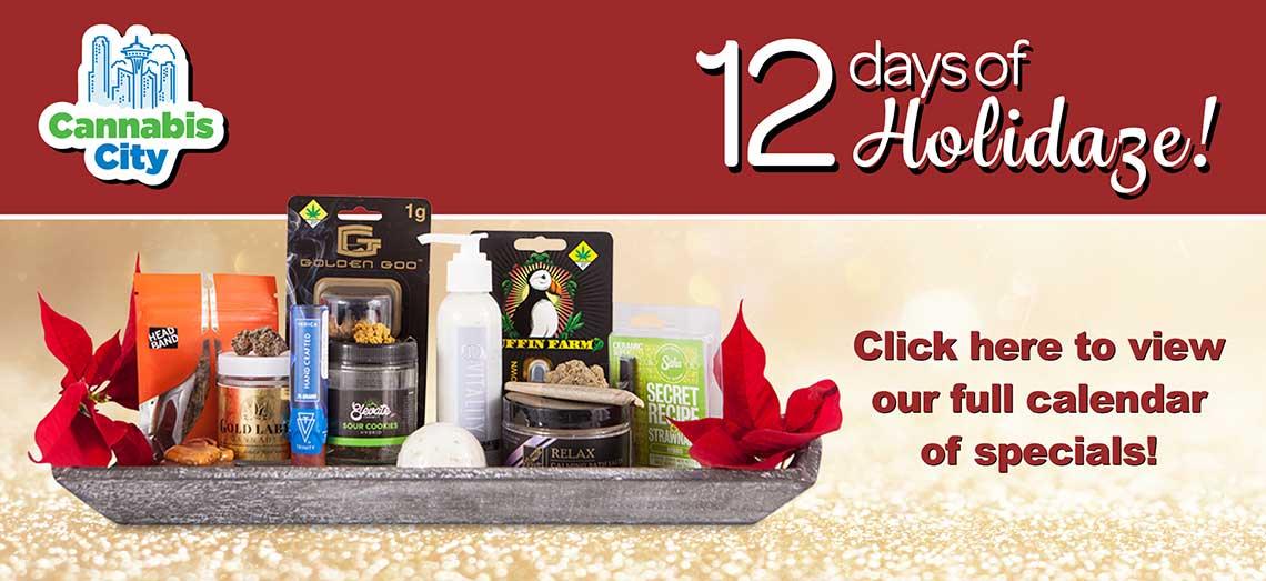 12 Days of Holidaze Specials